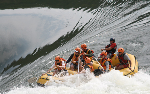 Whitewater Rafting Vic Falls